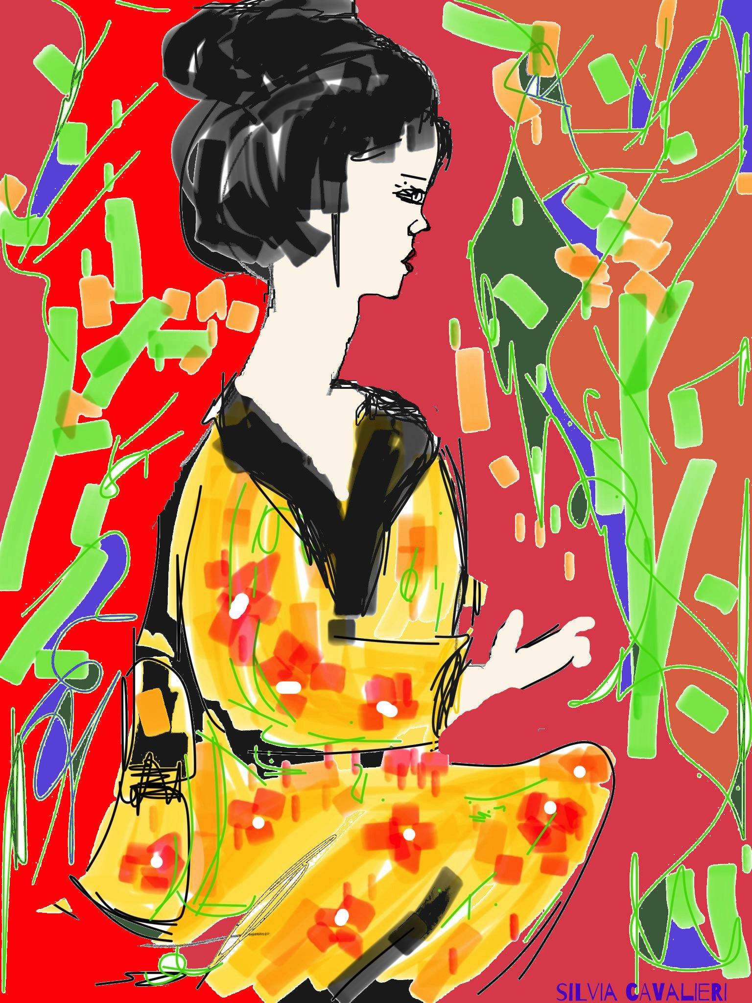 giapponesina a colori