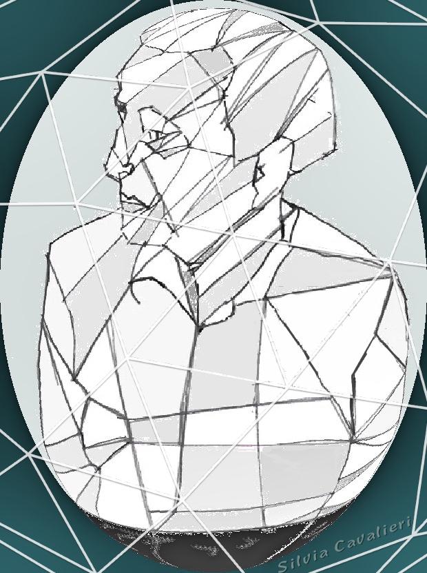 uomo di carta legato