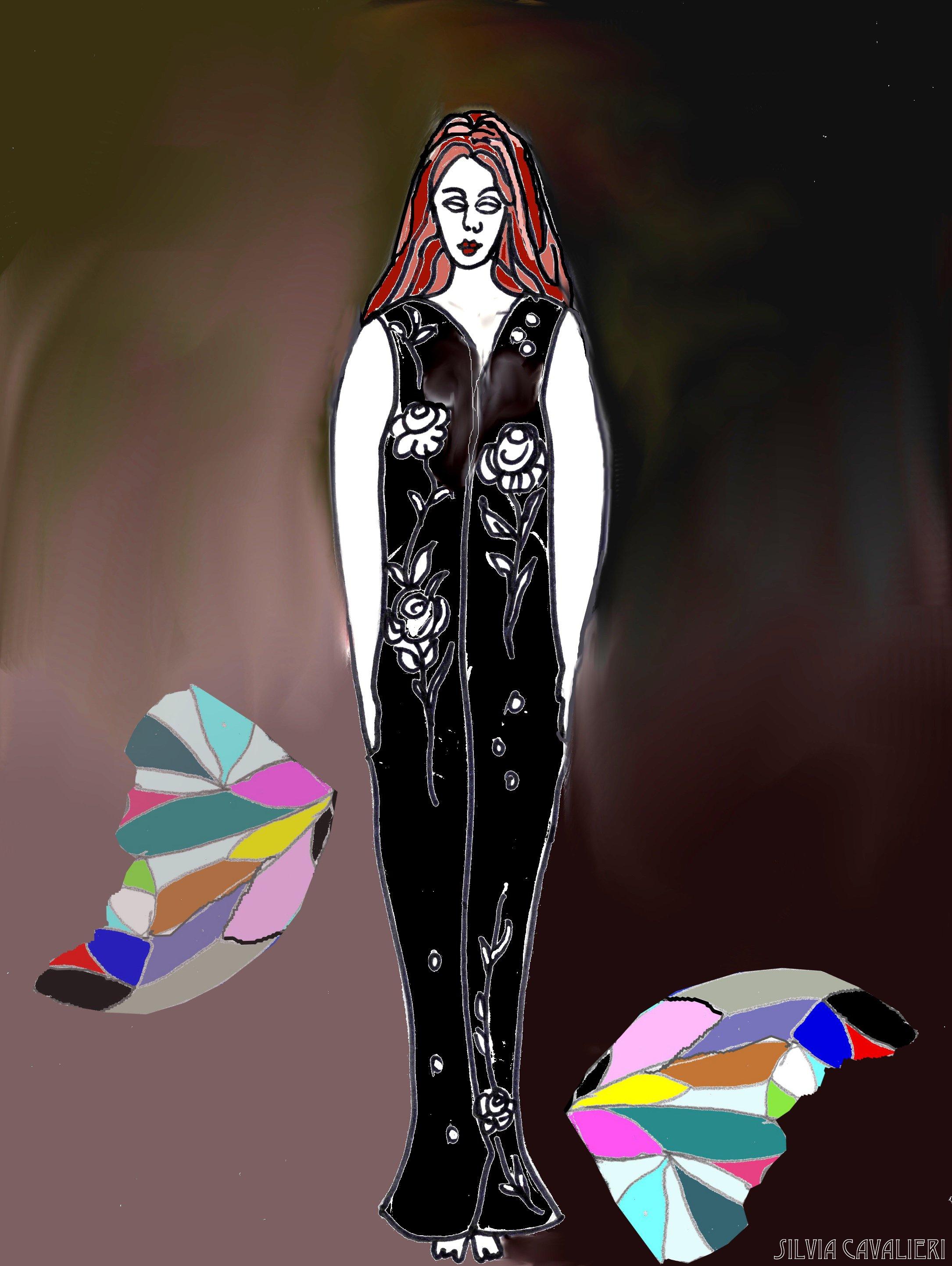 farfalla amputata