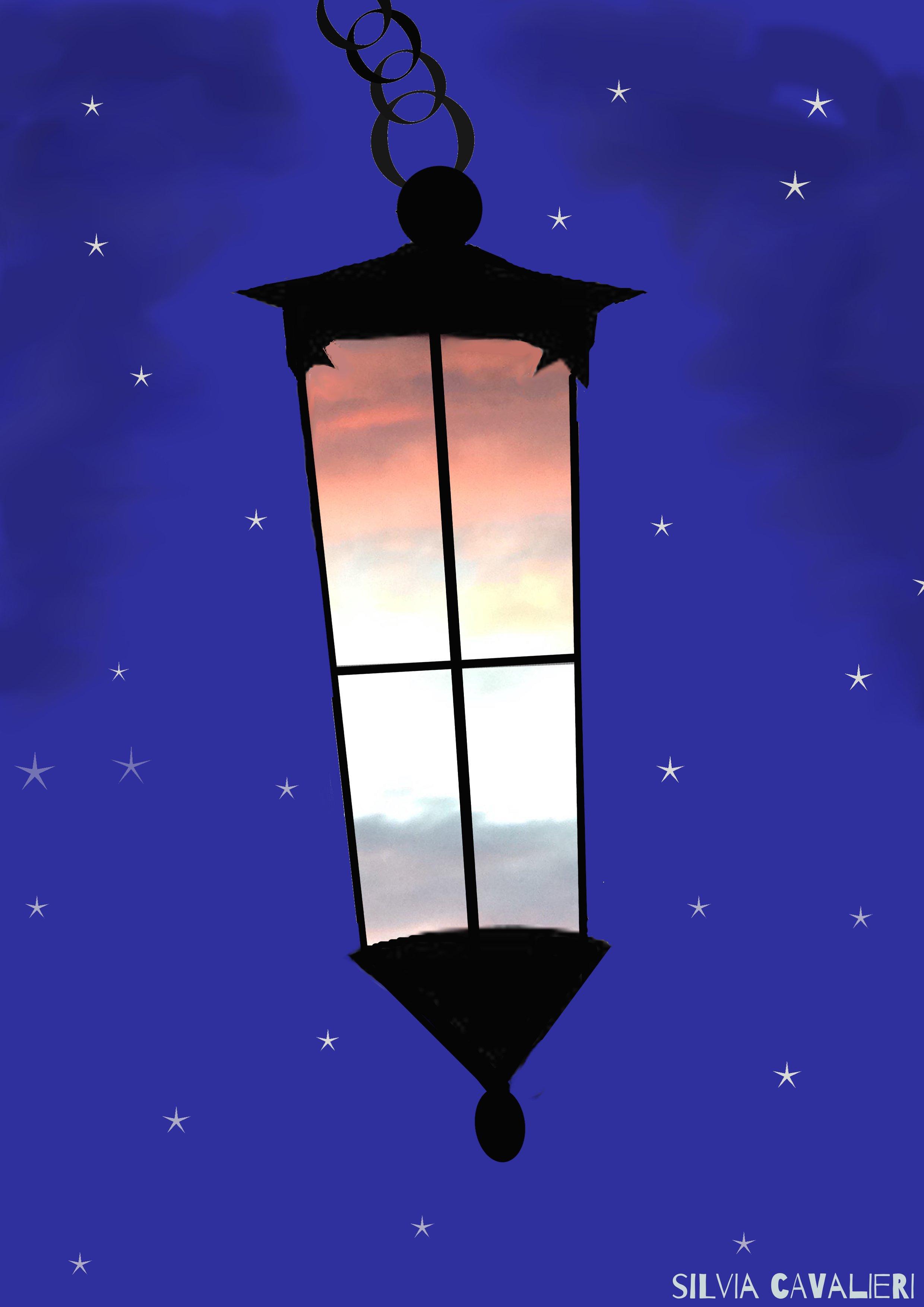 tramonto nella lanterna