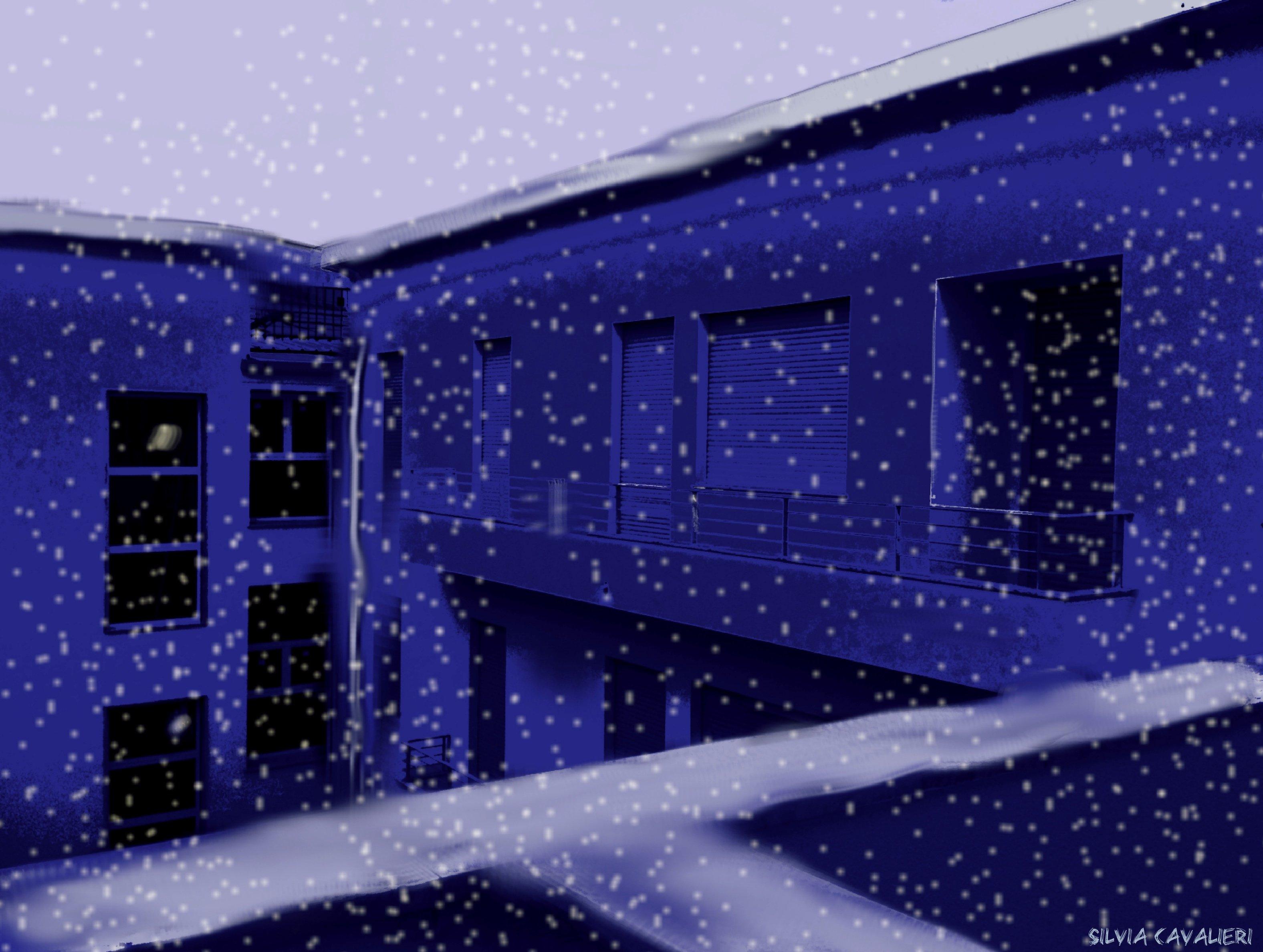 come nevica