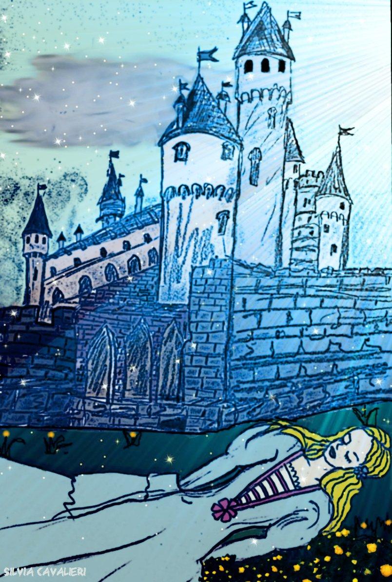 Castello marcondiro di notte firmato