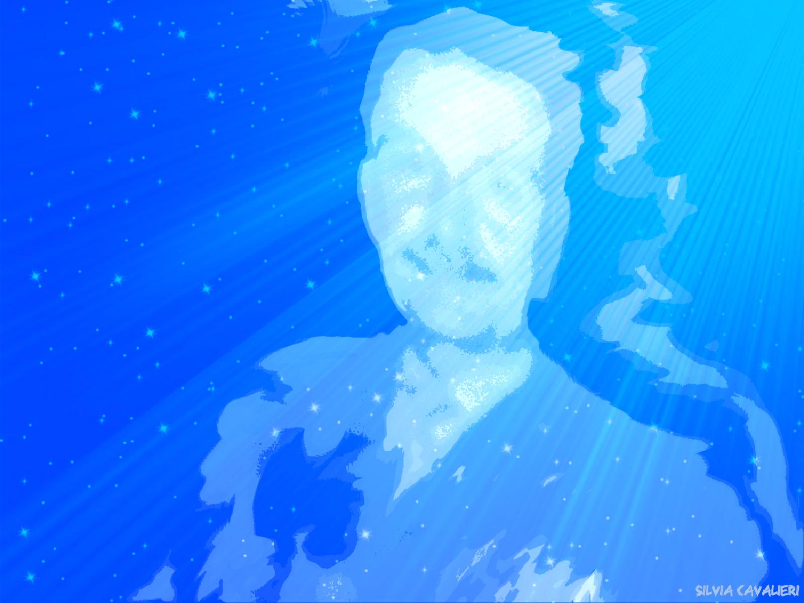 Giorgiasma ciano e stelle