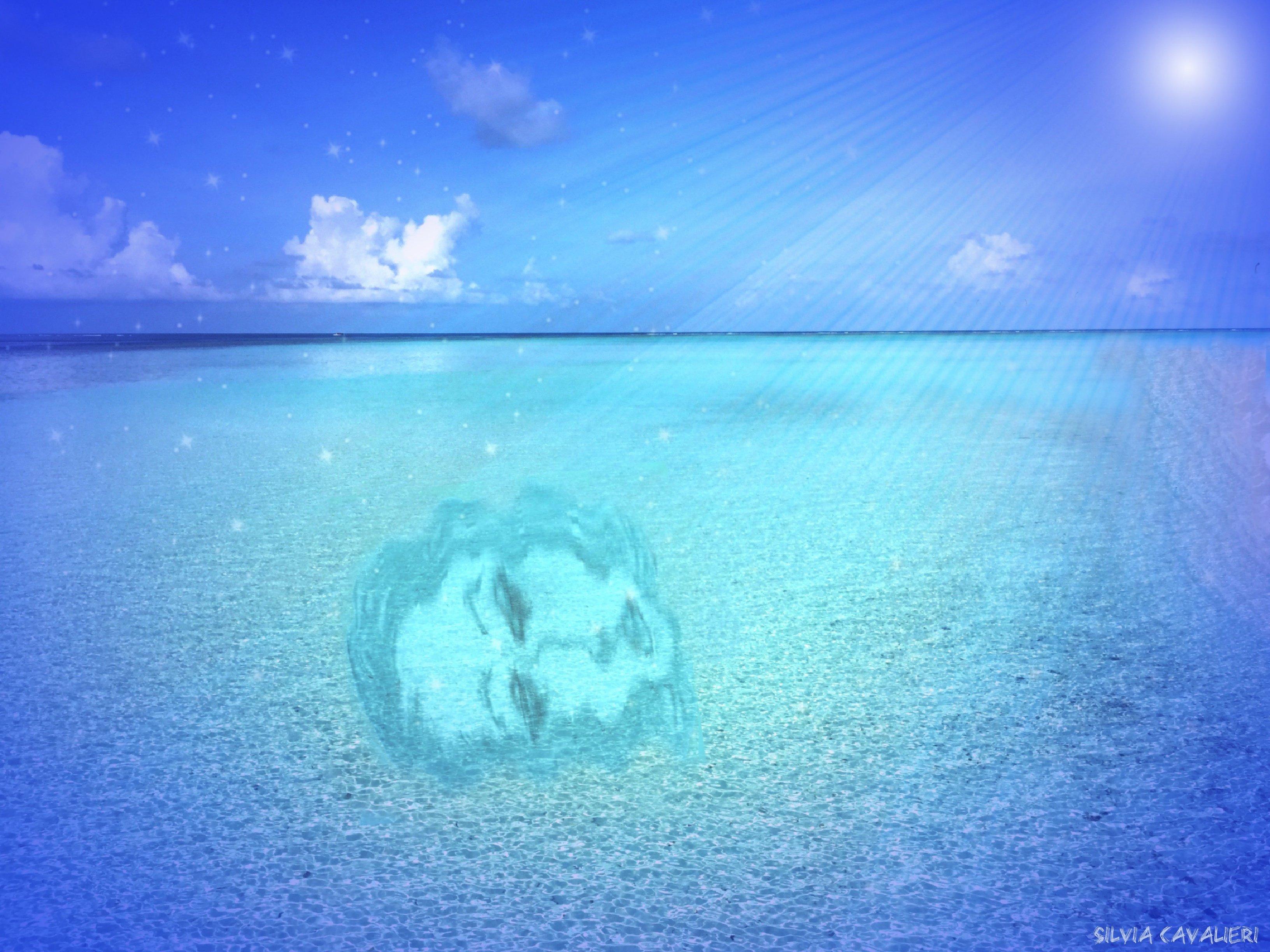 riflesso notturno di madre nel mare degli alisei.jpg