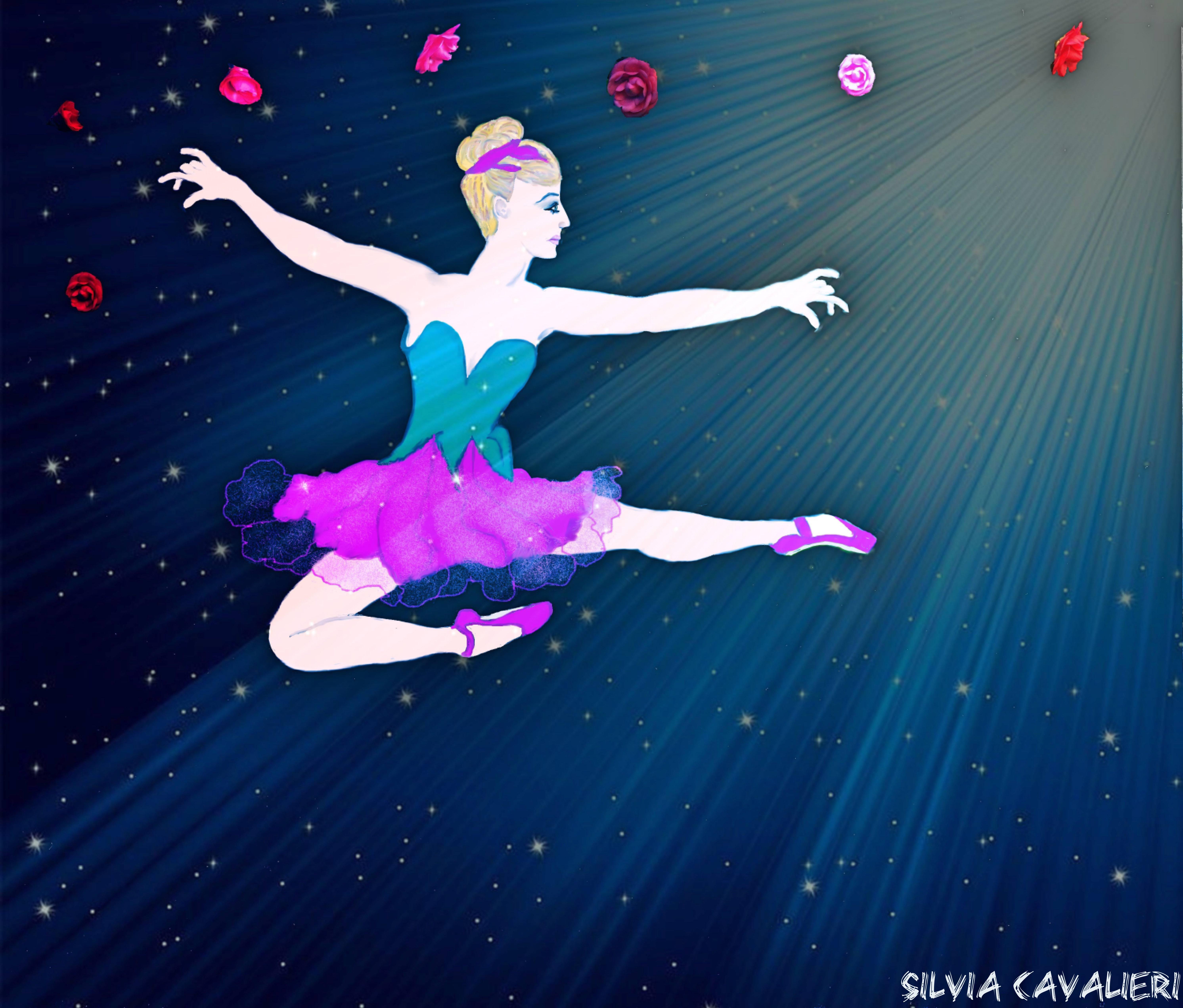 il sogno di una piccola ballerina fra le stelle